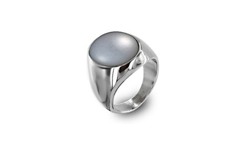 Pearl (Tahiti) Silver Ring (AP2)