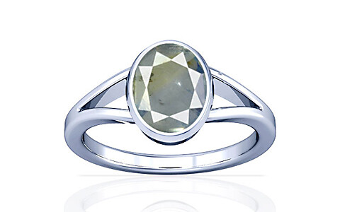 Pitambari Neelam Sterling Silver Ring (A2)