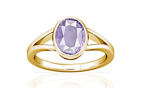 Purple Sapphire Gold Ring (A2)