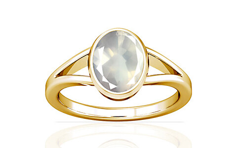 Rose Quartz Gold Ring (A2)
