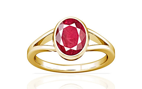 Ruby (Old Burma) Gold Ring (A2)