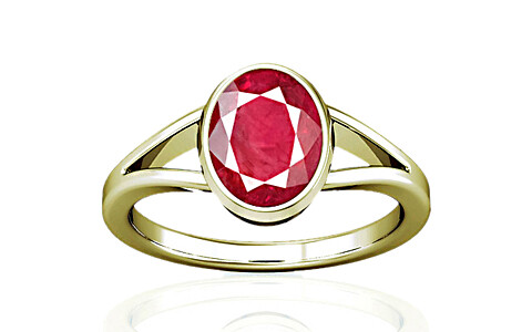 Ruby (Old Burma) Panchdhatu Ring (A2)