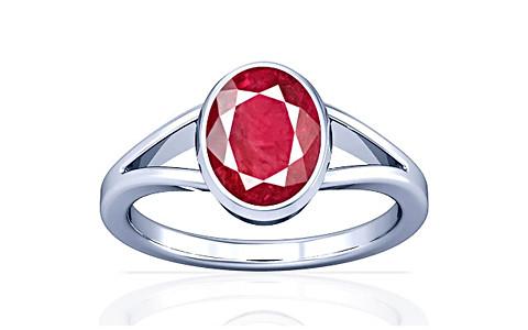 Ruby (old burma) Silver Ring (A2)