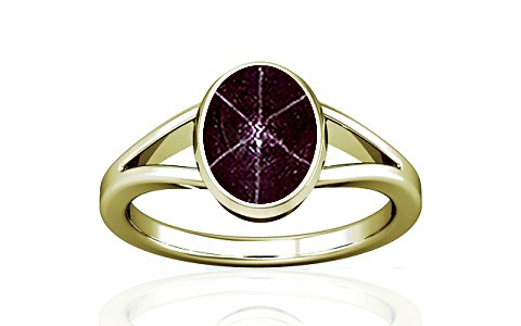 Star Ruby Panchdhatu Ring (A2)