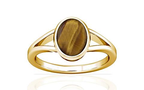 Tiger Eye Gold Ring (A2)