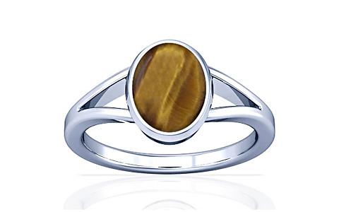 Tiger Eye Silver Ring (A2)