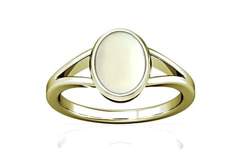 White Coral Panchdhatu Ring (A2)