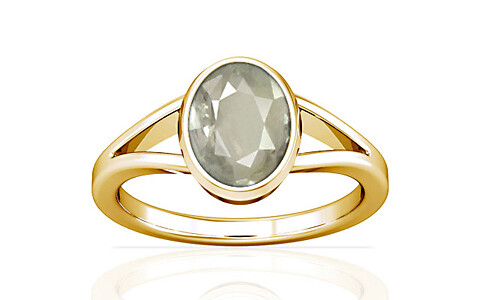 White Sapphire Gold Ring (A2)