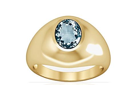 Aquamarine Gold Ring (A3)