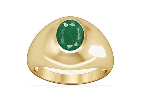 Green Beryl Gold Ring (A3)