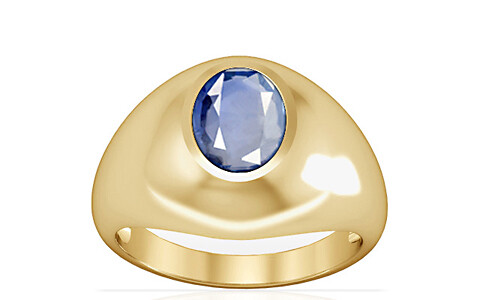 Blue Sapphire Gold Ring (A3)