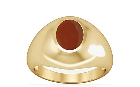 Carnelian Gold Ring (A3)