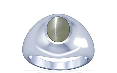 Chrysoberyl Cats Eye Silver Ring (A3)