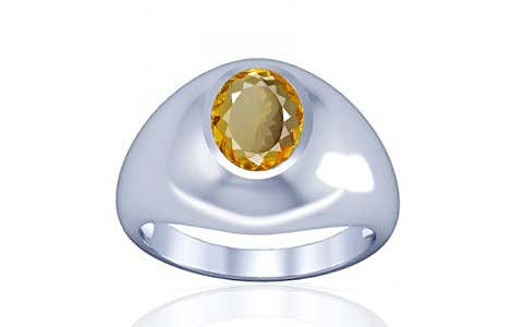 Citrine Silver Ring (A3)