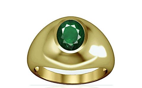 Emerald (Zambia) Panchdhatu Ring (A3)