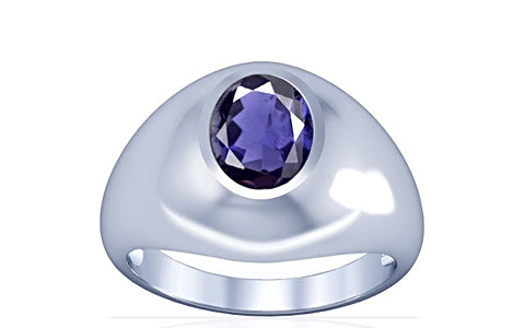 Iolite Silver Ring (A3)