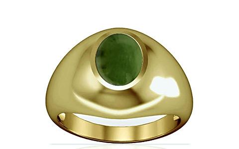 Nephrite Jade Panchdhatu Ring (A3)