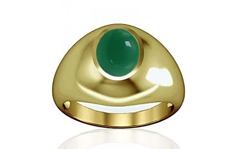 Green Onyx Panchdhatu Ring (A3)