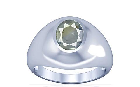 Pitambari Neelam Sterling Silver Ring (A3)