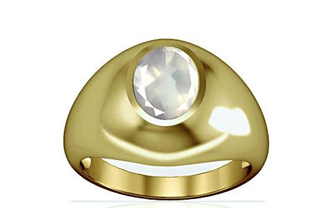 Rose Quartz Panchdhatu Ring (A3)