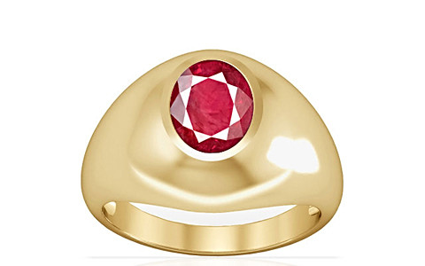 Ruby (Old Burma) Gold Ring (A3)