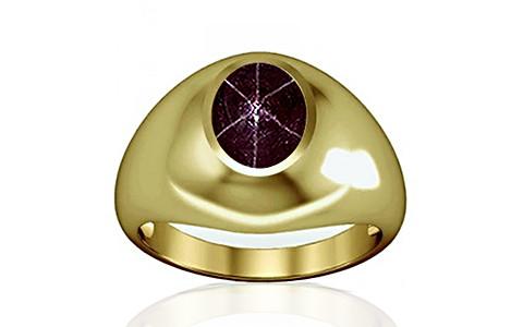 Star Ruby Panchdhatu Ring (A3)