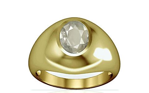 White Sapphire Panchdhatu Ring (A3)