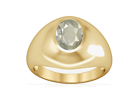 White Sapphire Gold Ring (A3)