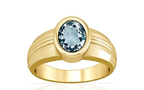 Aquamarine Gold Ring (A4)