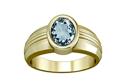 Aquamarine Panchdhatu Ring (A4)