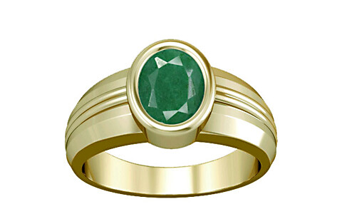 Green Beryl Panchdhatu Ring (A4)