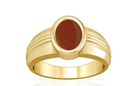 Carnelian Gold Ring (A4)