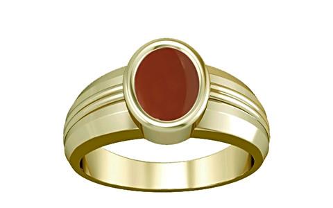 Carnelian Panchdhatu Ring (A4)