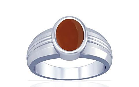 Carnelian Sterling Silver Ring (A4)