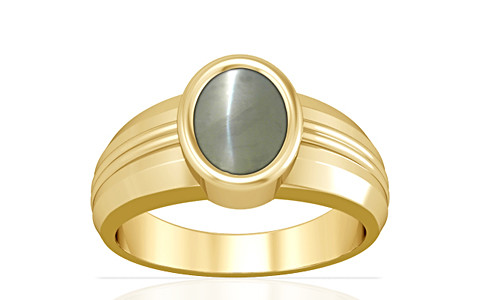 Chrysoberyl Cats Eye Gold Ring (A4)