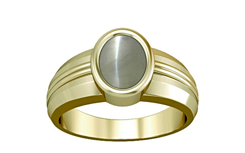 Chrysoberyl Cats Eye Panchdhatu Ring (A4)