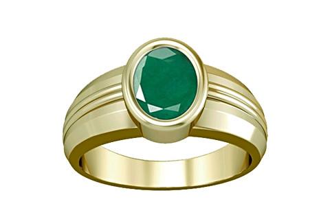Emerald Panchdhatu Ring (A4)