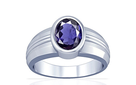 Iolite Silver Ring (A4)