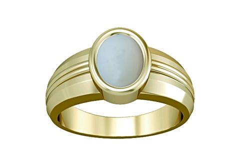 Moonstone Panchdhatu Ring (A4)