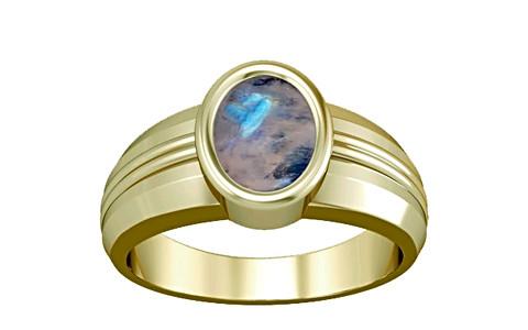 Rainbow Moonstone Panchdhatu Ring (A4)