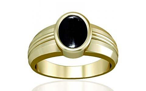 Black Onyx Panchdhatu Ring (A4)