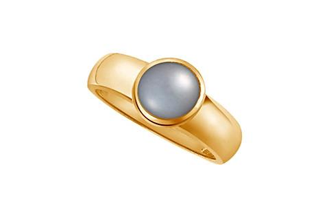 Pearl (Tahiti) Gold Ring (AP4)