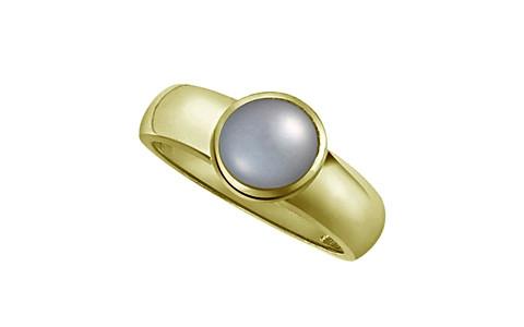 Pearl (Tahiti) Panchdhatu Ring (AP4)