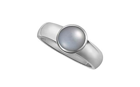 Pearl (Tahiti) Silver Ring (AP4)