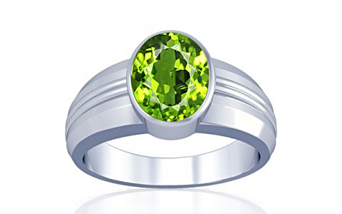 Peridot Silver Ring (A4)