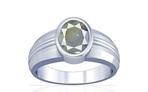 Pitambari Neelam Sterling Silver Ring (A4)
