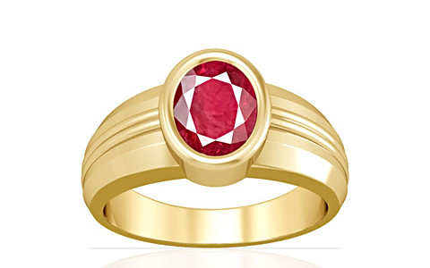 Ruby (Old Burma) Gold Ring (A4)