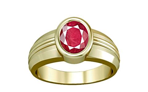 Ruby (Old Burma) Panchdhatu Ring (A4)