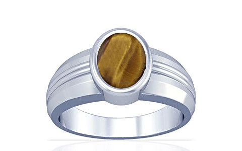 Tiger Eye Silver Ring (A4)