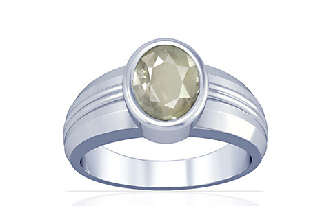 White Sapphire Silver Ring (A4)